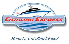 Image of Catalina Express logo and ad